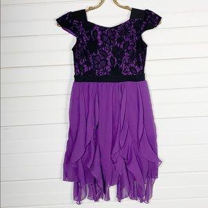 Disney D-Signed Lace & Ruffle Skater Dress